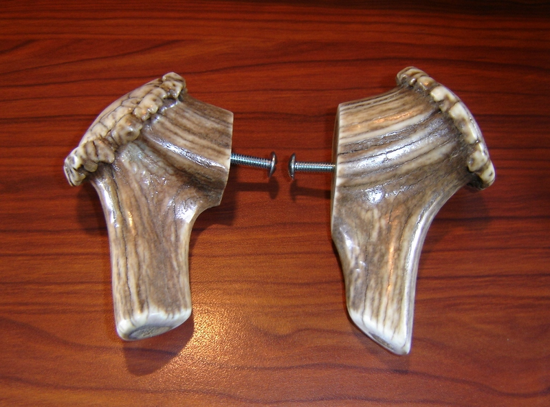 The Antlershop.com, Antler cabinet handles and knobs,Deer and Elk ...