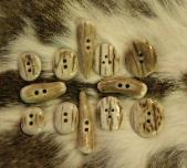 Assorted Antler buttons!